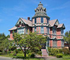 Inside Victorian Homes   The Ann Starrett Mansion! Port Townsend, Wa.   Flickr - Photo Sharing!
