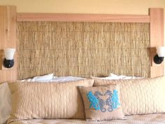 The experts at HGTV.com share creative and inspirational headboard ideas.