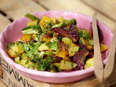 Salatrezepte - hier gibt's was in die Schüssel! - geroesteter-gemuesesalat  Rezept