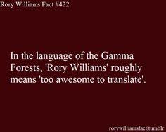 If you try to Translate Rory Williams, you create and unending paradox.