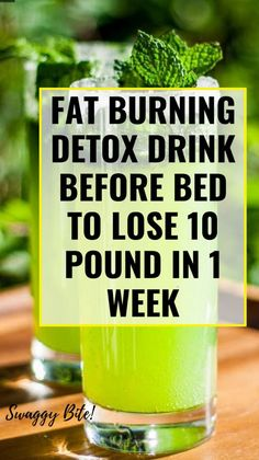 Best Detox Drinks Before Bed - Health & Fitness & Remedy Detox Drink Before Bed, Drinks Before Bed, Full Body Detox, Detox Your Body, Body Cleanse, Stomach Cleanse, Fat Burning Detox Drinks, Fat Burning Foods, Healthy Detox