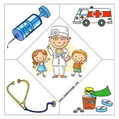 کاربرگ آموزش مشاغل برای کودکان و آشنایی آنها با ملزومات هر شغل - با آموزگار Career Day, School Frame, Cicely Mary Barker, Musical, Preschool Activities, Teacher, Community, Birthday, Puzzle