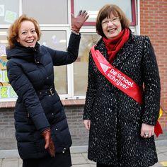Foto's van de opening in Buitenpost, Fryslân (23 jan 2017) – Vermeld bij gebruik: De Schoolschrijver door Barbara van Rijn.