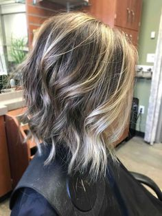 Hair color- ash blonde highlights