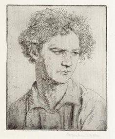 Art - Drawing - Jacob Epstein - by  Augustus Edwin John