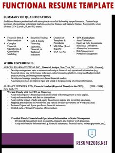 Combination Functional And Chronological Resume Sample Example Formal Format Sampleernational Nursing Low Experienceresume