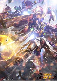 Gundam Cross War Mobile Phone Size Wallpapers
