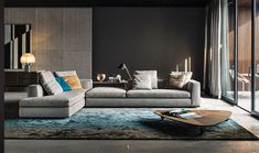 minotti sectional