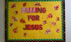 Falling for Jesus