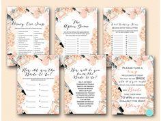 Fashion Bridal Shower Games Package Download by MagicalPrintable #babyshowerideas4u #birthdayparty  #babyshowerdecorations  #bridalshower  #bridalshowerideas #babyshowergames #bridalshowergame  #bridalshowerfavors  #bridalshowercakes  #babyshowerfavors  #babyshowercakes