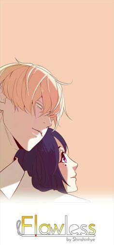 Flawless Webtoon, Tragic Love, Webtoon Comics, Anime Figures, Cute Couples, Manhwa, Romance, My Love, Books