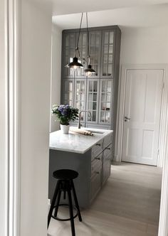 Design Kitchen, Kitchen Ideas, Hem, Sweet Home, New Homes, Rooms, House Design, Interior, Table