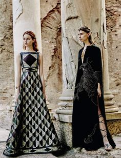 'Valentino' by Fabrizio Ferri for Vogue September Italia - Page 2 | The Fashionography