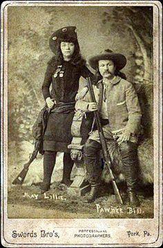 Kay Lillie and Pawnee Bill