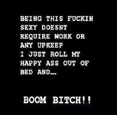 ha! For sure!