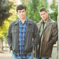 John Winchester and Dean, it runs in the family