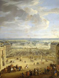May 6: On this date in 1682, Versailles officially became the seat of the French government and royal court. Louis XIV did not like Paris, and was determined to begin construction and renovation on a grand scale at Versailles.