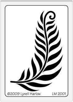 crafting stencils | Dreamweaver Stencils: LM 2001 Petite Fern