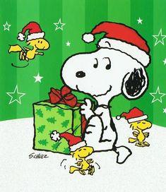 Peanuts Christmas, Charlie Brown Christmas, Charlie Brown And Snoopy, Christmas Greetings, Christmas Fun, Xmas, Christmas Presents, Snoopy Cartoon, Peanuts Cartoon