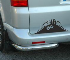 Peeking Monster for Cars Walls vw t4 t5 Funny Sticker Graphic Vinyl Car Decal U008 $3.69