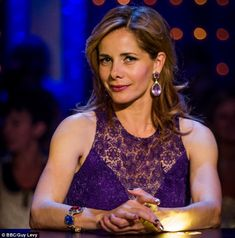 Judge: Darcey Bussell on the BBC show Strictly Come Dancing. lace and demure cleavage. Royal Ballet School, Strictly Come Dancing, Christina Hendricks, Celebs, Female Celebrities, Older Women, Celebrity Crush, New Look, Looks Great