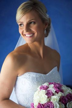One of our stunning brides Hair & Makeup enquiries :  Weddings@wyecosmetics.com.au 1300 993 267