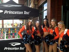 The Denver Broncos cheerleadies are enjoying their PTEC custom fuel headlamps.