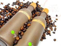 Recoffee, shampoo gemaakt van koffieprut. Weet jij hoeveel kopjes koffie nodig zijn voor 1 liter shampoo?