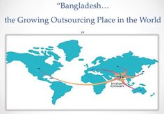 Outsourcing in Bangladesh is a growing market and freelancers of this country are earning handsome amount of foreign currency for our country http://advanceitbd.com/outsourcing-in-bangladesh/