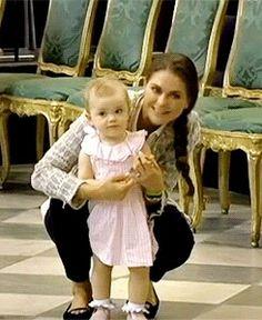 Princess Madeleine and Princess Estelle pre-wedding