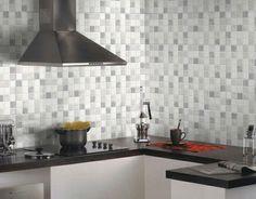 petite cuisine blanche avec mur en briques | cuisine | Pinterest ...