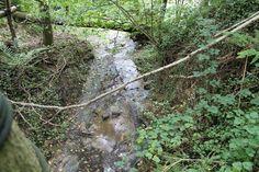 Waterval in de buurt van Chanxhe