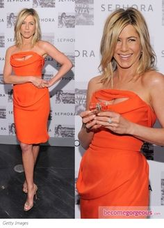 Pictures : Jennifer Aniston Style - Jennifer Aniston in Vivienne Westwood Dress