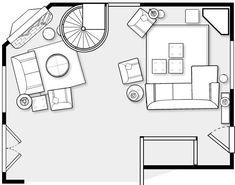 Furniture Placement In An Awkward Space Corner Fireplace LayoutCorner