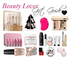 """""""Beauty Lover Gift Guide"""" by lisamariekiss on Polyvore featuring beauty, Sephora Collection, Viktor & Rolf, Herbivore, Tangle Teezer, Clinique, Bobbi Brown Cosmetics, Stila, OPI and Ashley Stewart"""