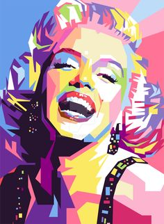 Marylin+Monroe+WPAP+by+iwanuwun.deviantart.com+on+@DeviantArt