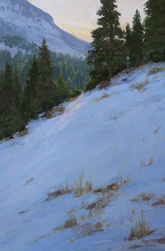 Winter's Glory by Kathleen Dunphy Oil ~ 30 x 20