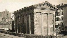 The Temple of Portunus, Forum Boarium.
