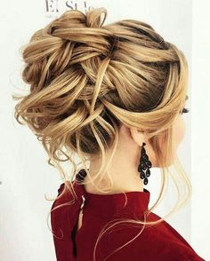 Updo Hairstyles For Long Hair Fair 39 Elegant Updo Hairstyles For Beautiful Brides  Pinterest  Updo