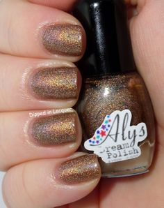 Dipped in Lacquer: Aly's Dream Polish - Ballad of Serenity Collection Swatches/Review (PIC HEAVY)