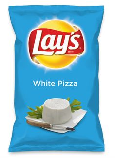 Wouldn't White Pizza be yummy as a chip? Lay's Do Us A Flavor is back, and the search is on for the yummiest flavor idea. Create a flavor, choose a chip and you could win $1 million! https://www.dousaflavor.com See Rules.