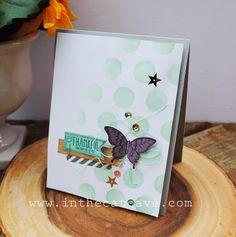 Papillon et strass