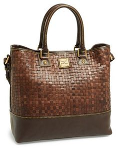 Dooney & Bourke Woven Leather Shopper on shopstyle.com