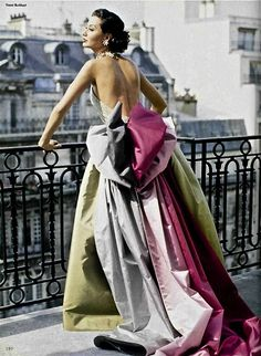 Nina Ricci Fall 1992 - Couture Photography by Vanni Burkhart