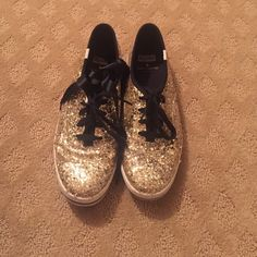 Keds/Kate Spade Very unique collab shoes!!!!! Great condition! Worn once kate spade Shoes Flats & Loafers