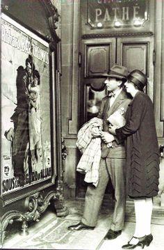 Paris - 1926 - Going to a movie?