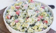 Brokolicový salát se zakysanou smetanou | NejRecept.cz