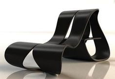 Carbon Fiber Chair Design by Allen Chester G. Zhang