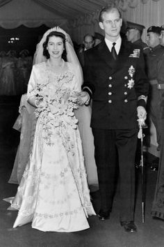 1953 - Mariage of Queen Elisabeth II and Prince Philip