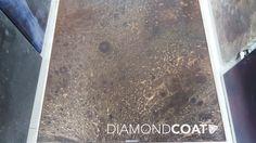 Charcoal moon flooring sample